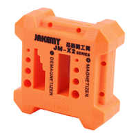 High Quality X2 Magnetizer Demagnetizer Tool Orange Screwdriver Magnetic Pick Up Tool Screwdriver Magnetic Degaussing