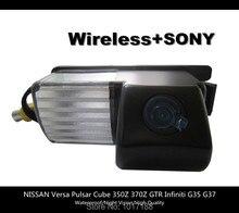Hd! Wi-fi беспроводная камера заднего вида SONY для NISSAN Versa пульсар куб 350Z 370Z GTR Infiniti G35 G37