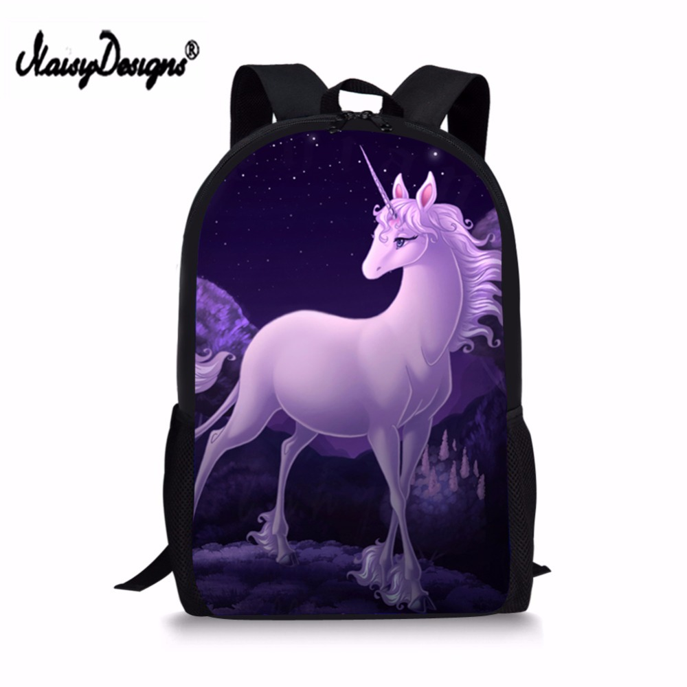 80b8a834f0 Girls School Backpack Unicorn Printing Teenagers Girls Kids Children  Backpacks New Girls Cartoon Backpack School Bag