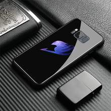 Fairy Tail Tempered Glass Soft Silicone Phone Case For Samsung Galaxy S7 Edge S8 S9 Plus Note 8 9