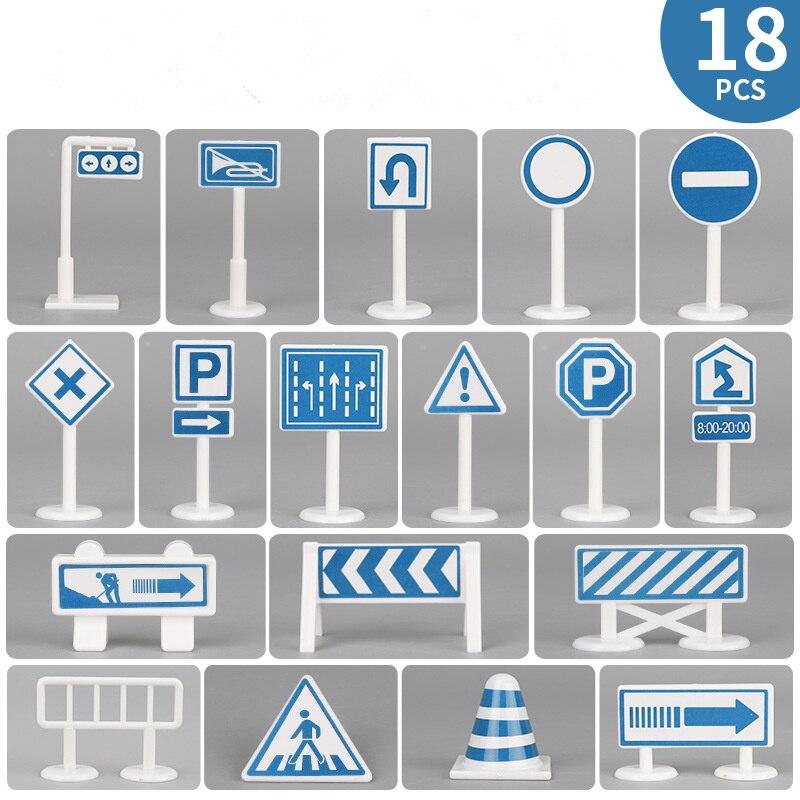 18pc Traffic Sign C1
