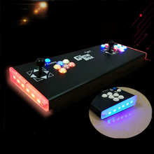 Hot sales Double joystick Consoles with multi game PCB board,DIY arcade game console 2018 new joystick consoles with multi game pcb board 960 in 1 pandora box 5 arcade joystick game console double controllers