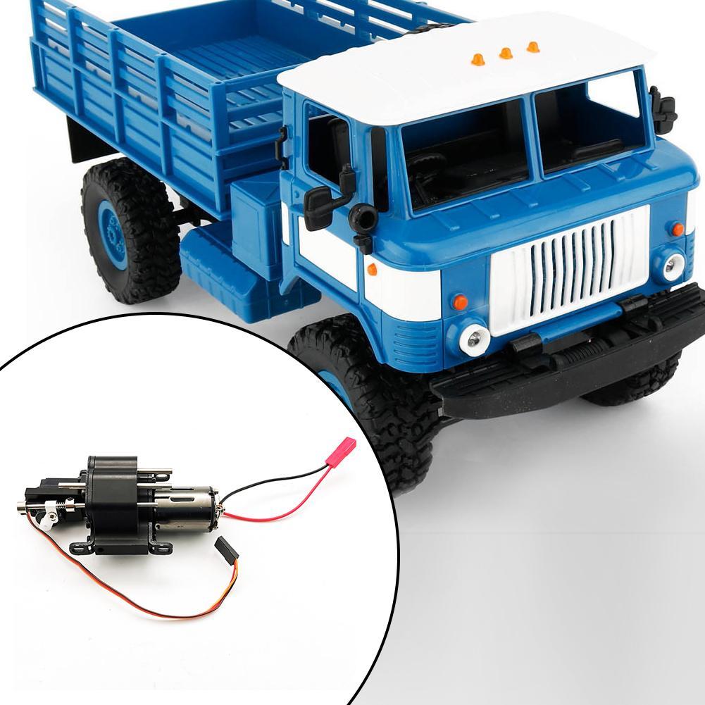 Boîte de vitesses en métal Super-alimenté pour WPL JJRC MN 4WD 6WD RC voiture rénovation mise à niveau modèle accessoires bricolage mise à niveau modèle modifié jouets - 6