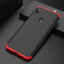 360 Caso À Prova de Choque Para Huawei P Inteligente Caso Z 3 Completo em 1 Capa Dura Caso PC Para Huawei P inteligente Z SmartZ PSmartZ STK LX1 Capa