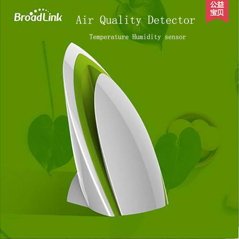 Smart Air Quality Monitor intelligent linkage E-air Air Quality Detector A1 Testing Air Humidity PM2.5 Remote Control by WIFI