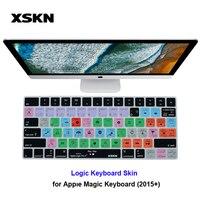 XSKN Keyboard Skin For Apple Logic Pro Pro X For IMac Magic Keyboard Logic English Shortcut