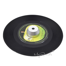 45 RPM Silver Adapter Durable Solid Aluminum Center for 7 inch Records Vinyl