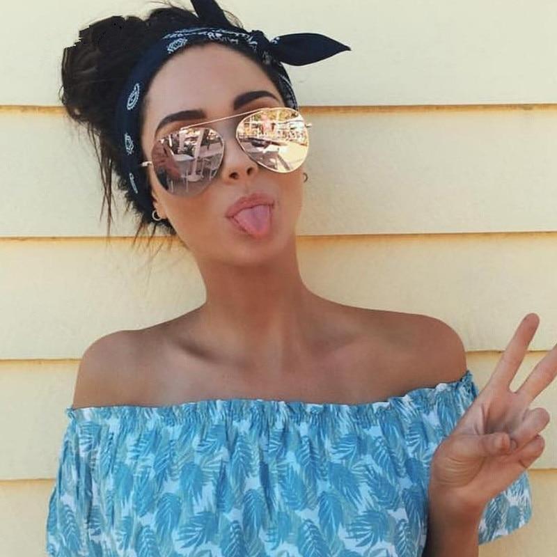 Fashion Retro Pilot Sunglasses Women Brand Designer 2019 ...