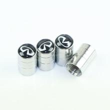 تصفيف السيارة شعار السيارات أغطية معدنية الحال بالنسبة إنفينيتي FX35 Q50 Q30 ESQ QX50 QX60 QX70 EX JX35 G35 G37 EX3 اكسسوارات السيارات التصميم