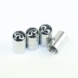 Image 1 - Funda de tapa de metal con emblema de coche para Infiniti FX35 Q50 Q30 ESQ QX50 QX60 QX70 EX JX35 G35 G37 EX3 accesorios de diseño de coche