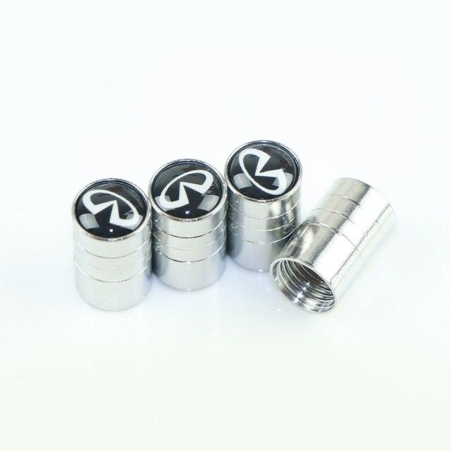 Funda de tapa de metal con emblema de coche para Infiniti FX35 Q50 Q30 ESQ QX50 QX60 QX70 EX JX35 G35 G37 EX3 accesorios de diseño de coche