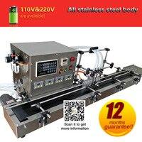 4 насадки машина для розлива жидкости автоматическое заполнение машина с 4 разных управления