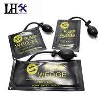 LHX Sprzętu 3 sztuk/partia Gumowe Pompy Klin Airbag Uniwersalny Air Wedge Zestaw Ślusarski Blokada Pick Blokada Otwierania Drzwi