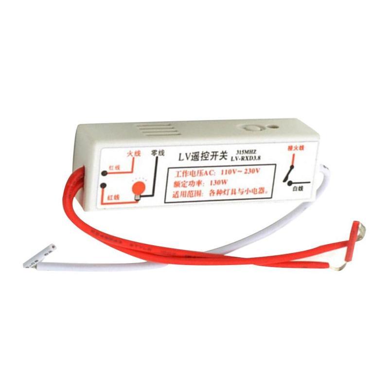 110V-220V Smart Remote Control Switch RF 315MHz Wifi FireWire Wireless Wall Light Learning Type Switch Via Broadlink RM2 RM Pro