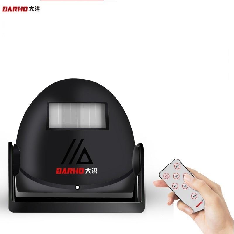 Darho Wireless Visitor Customer Door Chime Entry Alert Entrance Alarm Greeting Warning Doorbell Home Security Battery Intelligen