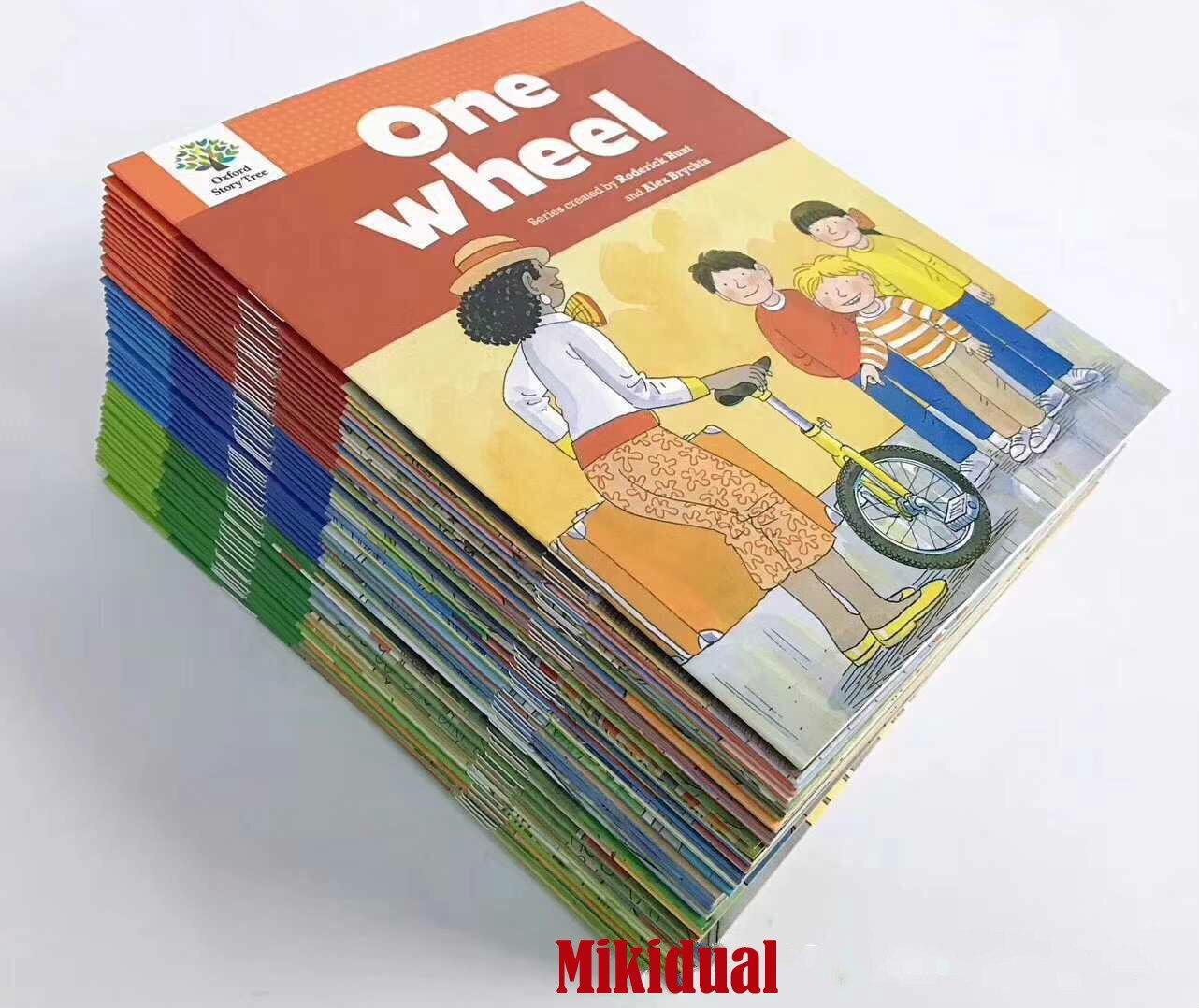 1 Set 52 livres 1-3 niveaux Oxford Story Tree bébé anglais lecture livre photo histoire maternelle jouets éducatifs pour les enfants - 2