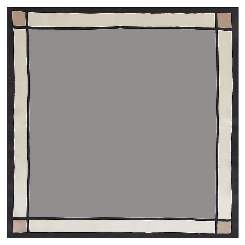 Bekleidung Zubehör PüNktlich Kleine Quadratische Schals Warps 2019 Neue Design Frauen Schal Luxus Marke Twill Seide Schal Einfarbig Halstuch Hijab Stirnband