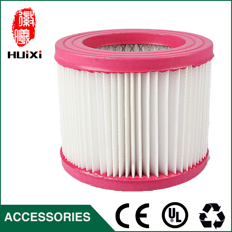 Plastic and steel wire frame hepa air filter and the original of vacuum cleaner parts replacement  for hepa filter JN-508 142 126mm size plastic and steel wire frame hepa filter and the original of hepa vacuum cleaner parts for gy308 15l gy309 18l