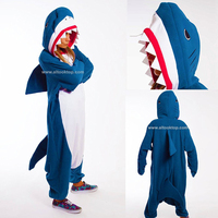 Men Women Lady Adult Pajamas Kigurumi Onesies Shark Cosplay Unicorn Unicornio Bug Dinosaur Christmas Halloween Costume