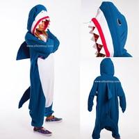 Men Women Lady Adult Pajamas Kigurumi Onesies Shark Cosplay Unicorn Unicornio Bug Dinosaur Christmas Halloween Costume