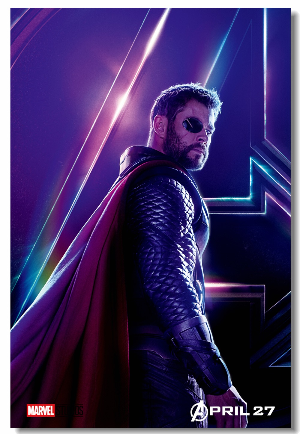 Custom Canvas Wall Decorations Chris Hemsworth Thor Poster