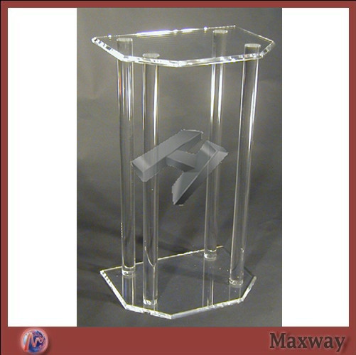 High Transparency Beautiful And Elegant Lectern