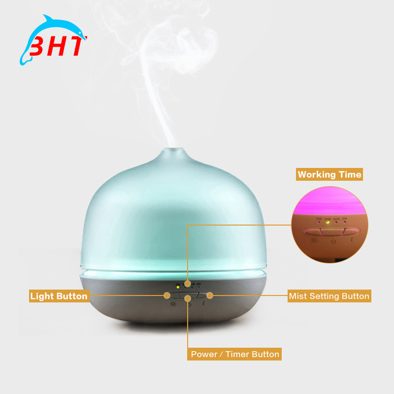 wooden grain ultrasonic aromatherapy air humidifier. Black Bedroom Furniture Sets. Home Design Ideas