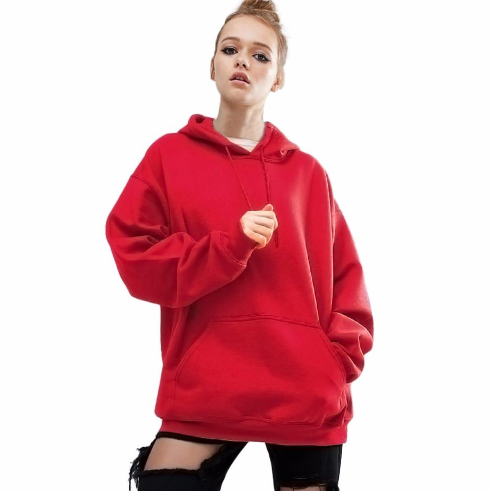 ba0b7ecef6c Hoodies Women Plus Size 5XL Red Sweatshirt Women 2019 Autumn Winter Coat Pullover  Casual Loose Sweat