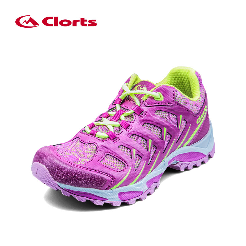 2018 Clorts Women Running Shoes Super Light Outdoor Running Sneakers Colorful Sports Walking Shoes 3F021 glowing sneakers usb charging shoes lights up colorful led kids luminous sneakers glowing sneakers black led shoes for boys