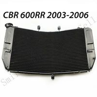 motorcycle Aluminum Replacement Radiator cooler For Honda CBR600RR 2003 2006 2004 2005