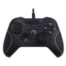 1 Шт. Проводной USB PC Геймпад Игровой Контроллер Вибрации Джойстик Геймпад Joypad для Xbox One L3FE