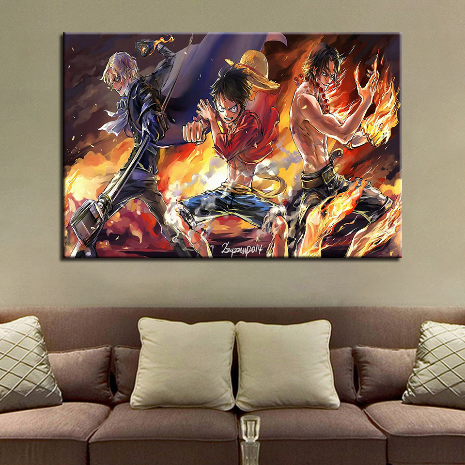 One Piece Canvas Wall Painting