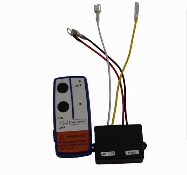 จัดส่งฟรี 12Vไฟฟ้าไร้สายรีโมทคอนโทรลและReceiver KitสำหรับรถบรรทุกรถATV