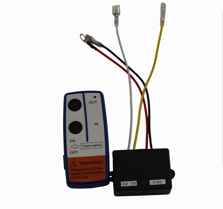 Free Shipping 12V Electric Winch Wireless Remote Control & Receiver Kit For Car Truck ATV-in Towing Ropes from Automobiles & Motorcycles