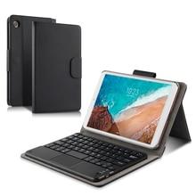 Coque de protection en cuir PU pour tablette 8 pouces, étui de protection pour clavier Bluetooth sans fil, pour Xiaomi Mi Pad 4