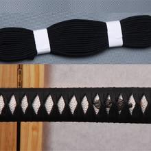 Черный Ito Sageo хлопковый шнур для меч самурая японский катана или вакизаши или Танто монтажный монтаж M6