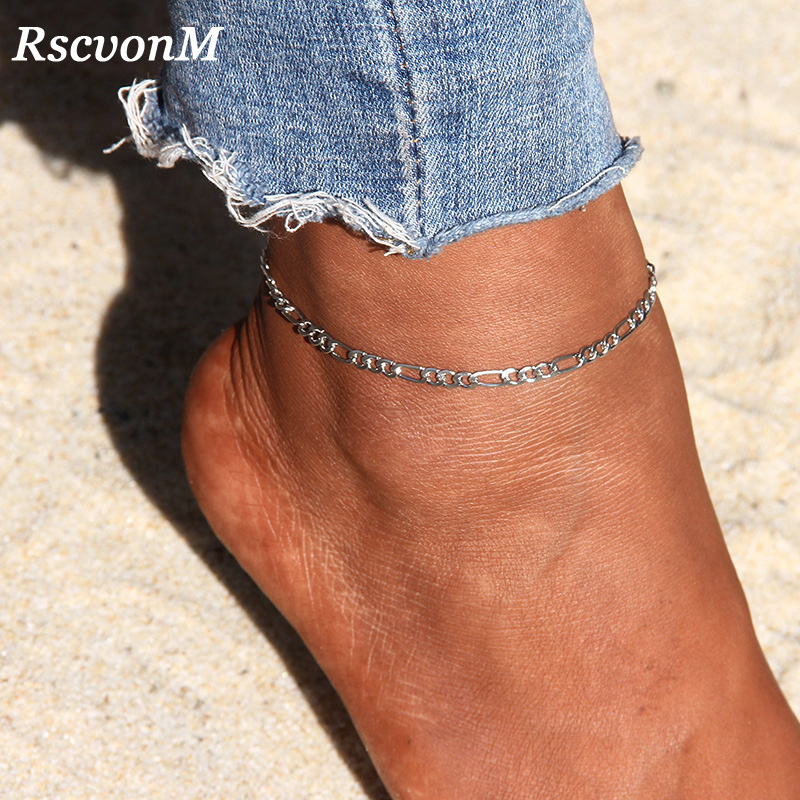 En forme de cœur femmes bracelet chaîne Beach Pied Bijoux cheville Sandales Pieds Nus