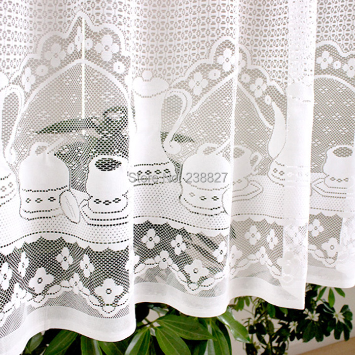 Reasonable Xinhuaease Short White Tulle Curtain For Kitchen Window Sheer Door Curtains Cortinas Roman Blinds Finished Decorative Valances Window Treatments