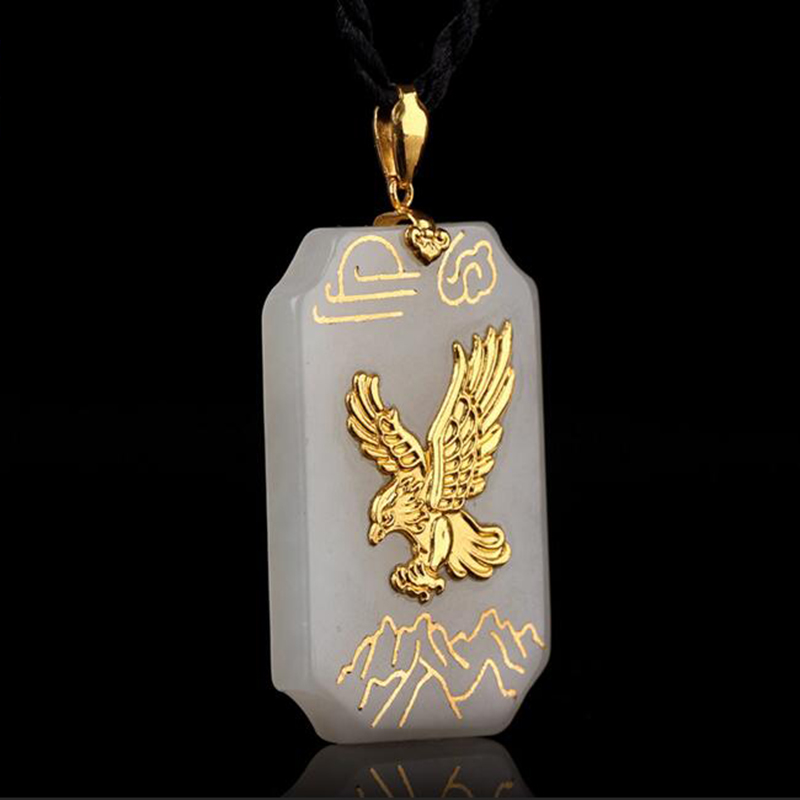 TJP զեղչով տաք վաճառք Լավ որակի Jade Eagle - Նուրբ զարդեր - Լուսանկար 2