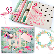 3PC Pro Nail Art Mat Pad Cotton Manicure Table Nails Design Linen Cloth Washable Portable Tools Holder