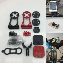 Велосипедный передний держатель для телефона Garmin Bryton Cateye I gps порт велосипедный gps компьютерный светильник кронштейн для камеры GoPro без Wahoo