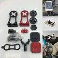 Велосипед из Переднее Крепление-держатель с креплением для телефона Garmin Bryton Cateye я GPS порт велосипед GPS компьютер светильник Камера GoPro кронш...