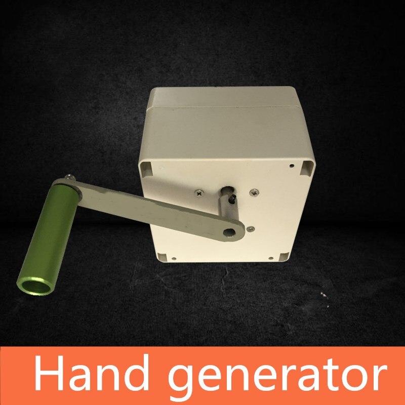 NEUE Hand generator requisiten Room Escape Kammer requisiten escape zimmer spiel prop controll sperren oder licht-in Party-Geschenke aus Heim und Garten bei  Gruppe 3
