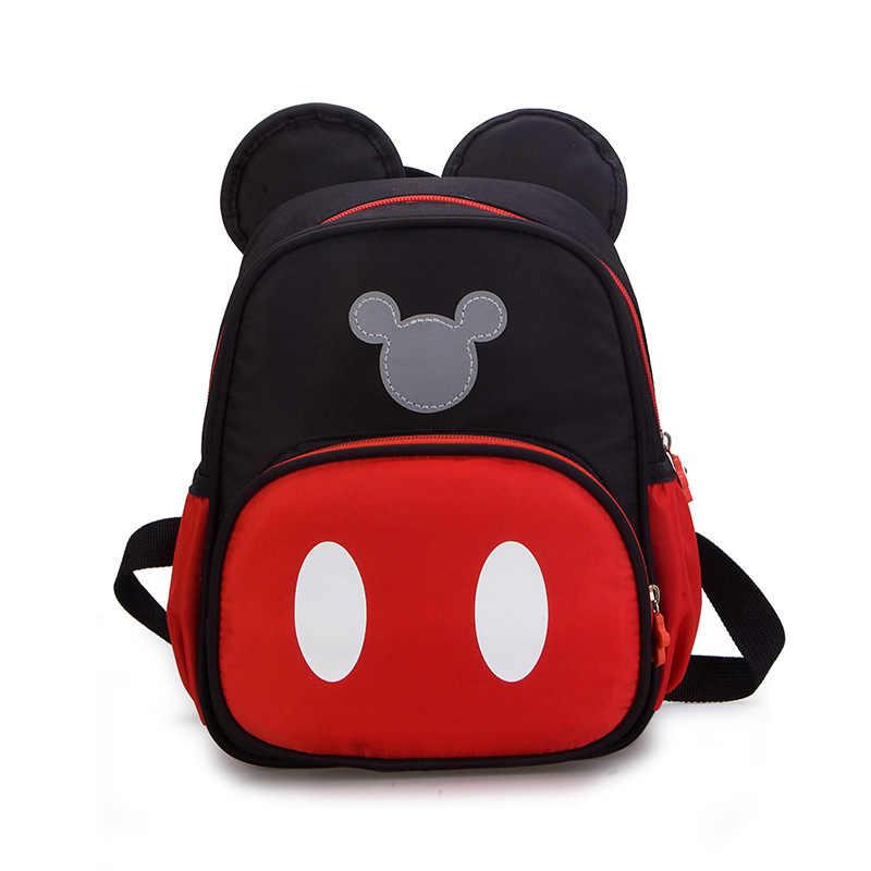 Disney nowy przedszkole pluszowy tornister chłopcy dziewczęta kreskówka minnie Mickey dzieci przedszkole dziecięcy plecak dziecięcy