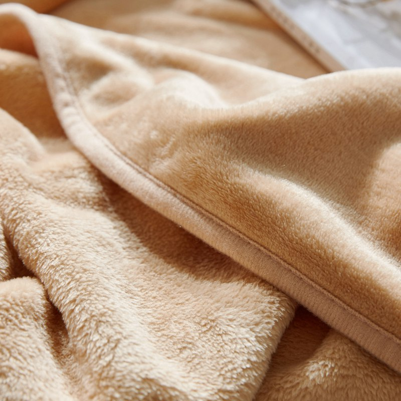 Home Décor Strict 100x120cm Super Soft Blanket Winter Wool Blanket Ferret Cashmere Warm Blanket Home & Garden