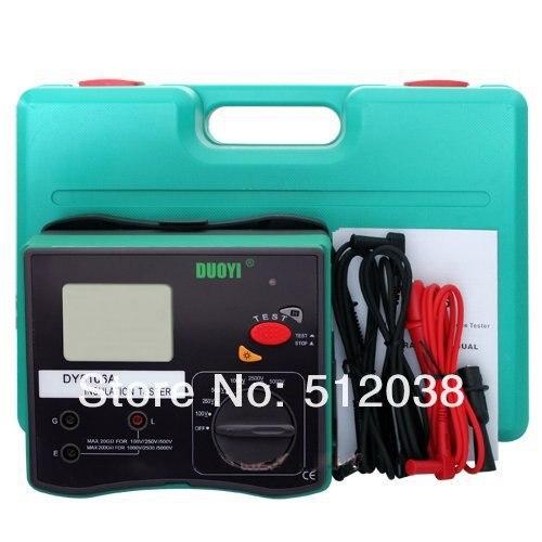 DY5106A Digital Insulation Resistance Tester Meter Voltmeter Megohmmeter 5000V
