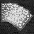 6 лист 3D Nail Art Наклейки Советы Наклейка Мода Цветок Совет Украшения Палочки Nail Art Маникюр Аксессуары Высшего Качества!