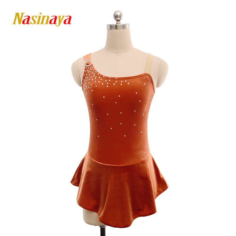 Nasinaya Figure Skating Dress Customized Competition Ice Skating Skirt for Girl Women Kids Patinaje Gymnastics Performance 172Nasinaya Figure Skating Dress Customized Competition Ice Skating Skirt for Girl Women Kids Patinaje Gymnastics Performance 172
