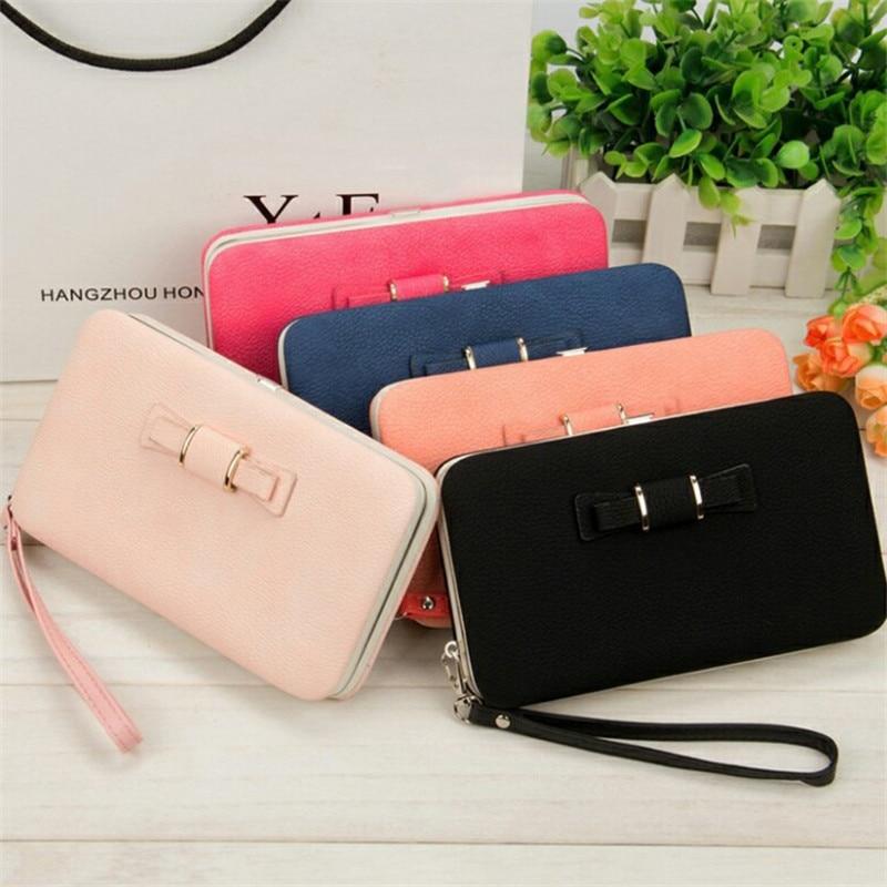 2019 Women Wallets Long Purse Female Money Bag Credit Card Holder Clutch Coin Purse Cellphone Pocket Gifts For Women