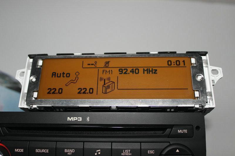 Prix pour Écran support USB et Bluetooth Affichage jaune moniteur 12 broches pour Peugeot 307 407 408 citroen C4 C5